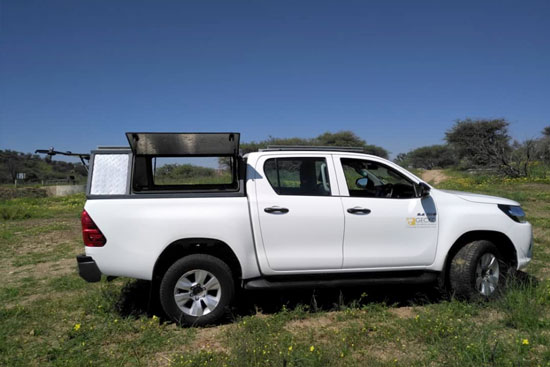 4x4 hire in Namibia