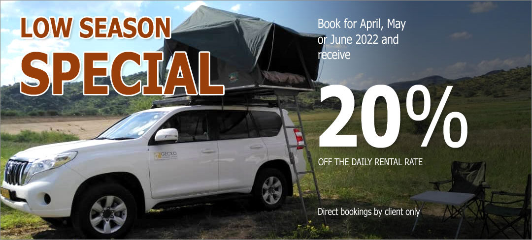 Car Rental Specials - low season